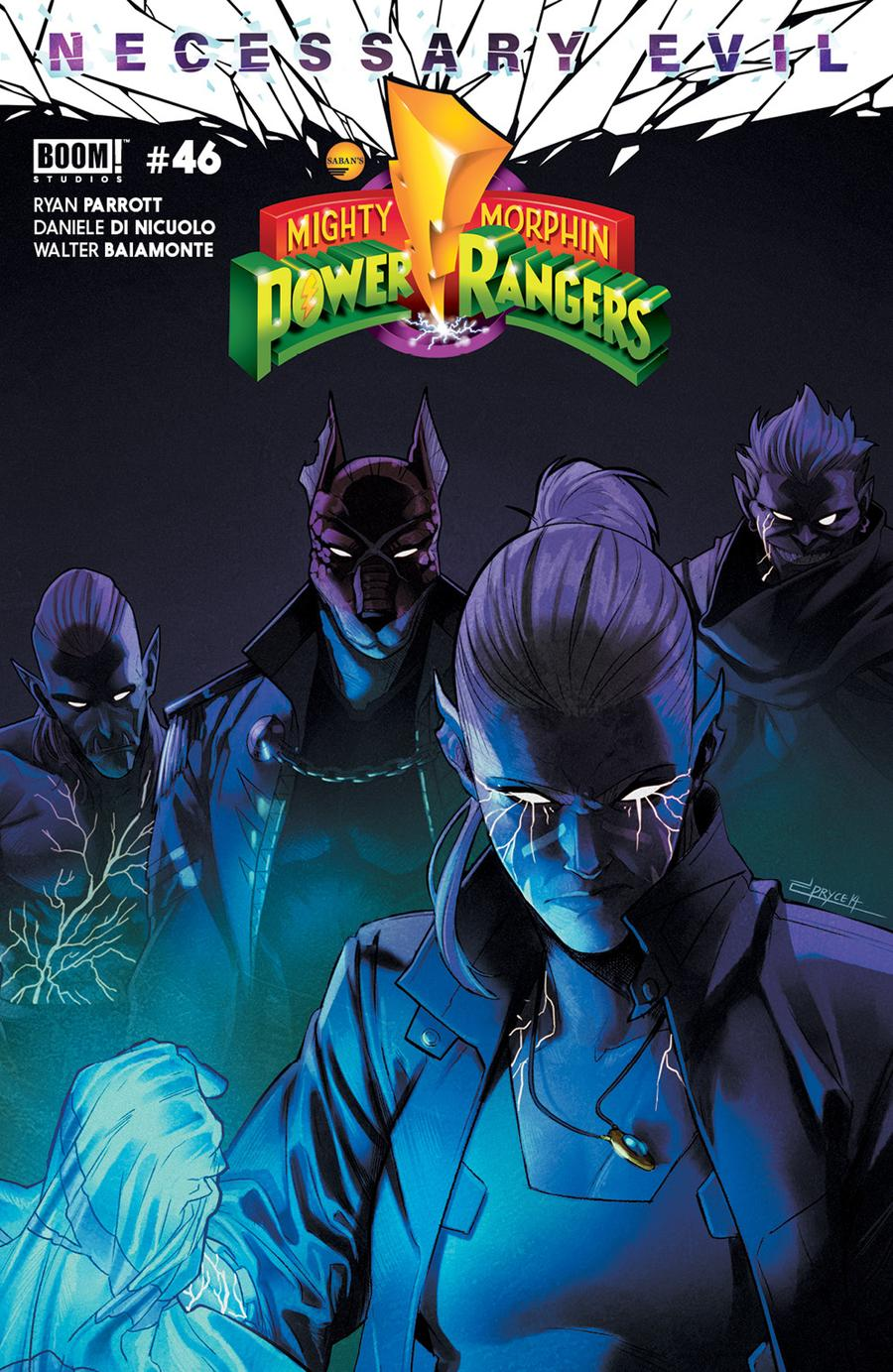 Mighty Morphin Power Rangers (BOOM Studios) #46 Cover A Regular Jamal Campbell Cover