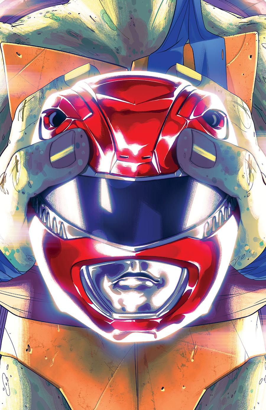 Mighty Morphin Power Rangers Teenage Mutant Ninja Turtles #1 Cover D Variant Goni Montes Cover