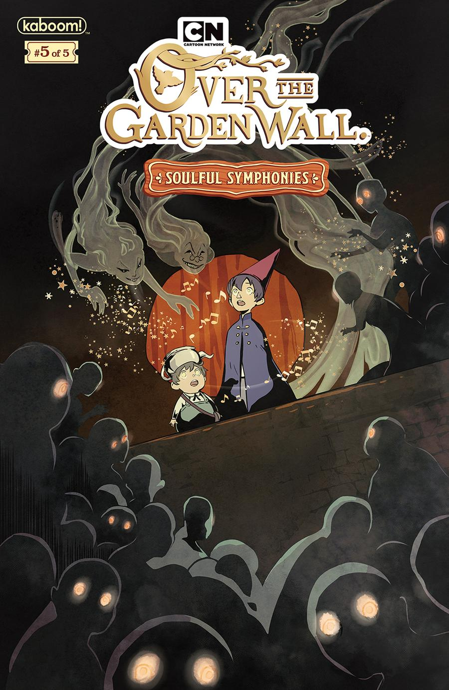 Over The Garden Wall Soulful Symphonies #5 Cover A Regular Keezy Young Cover