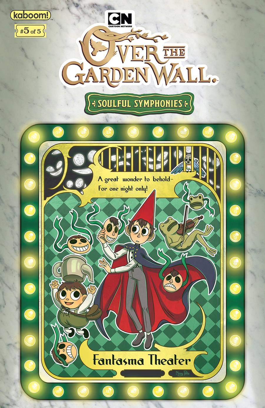 Over The Garden Wall Soulful Symphonies #5 Cover B Variant Missy Pena Preorder Cover