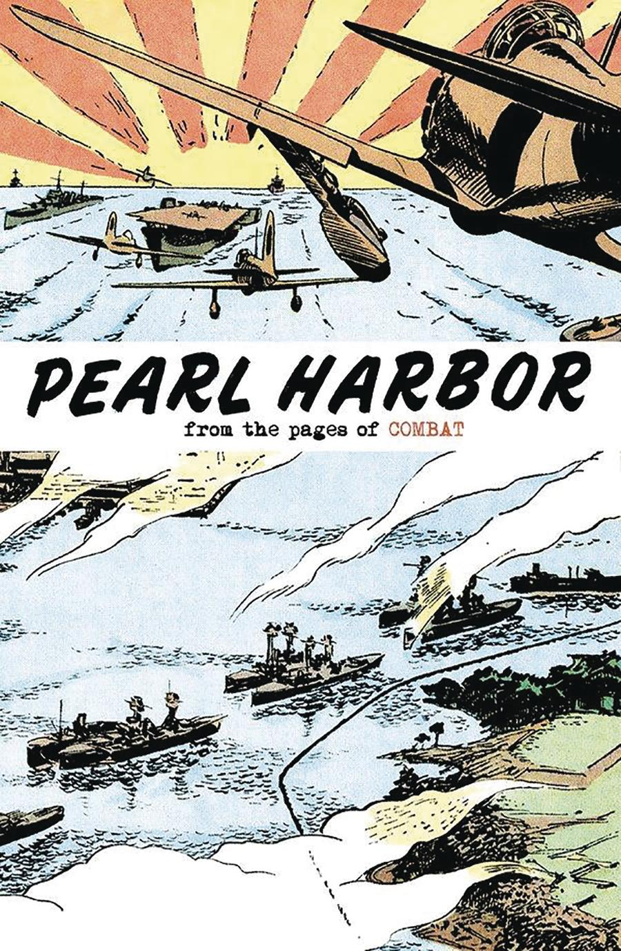 Pearl Harbor From The Pages Of Combat Cover A Regular Sam Glanzman Cover