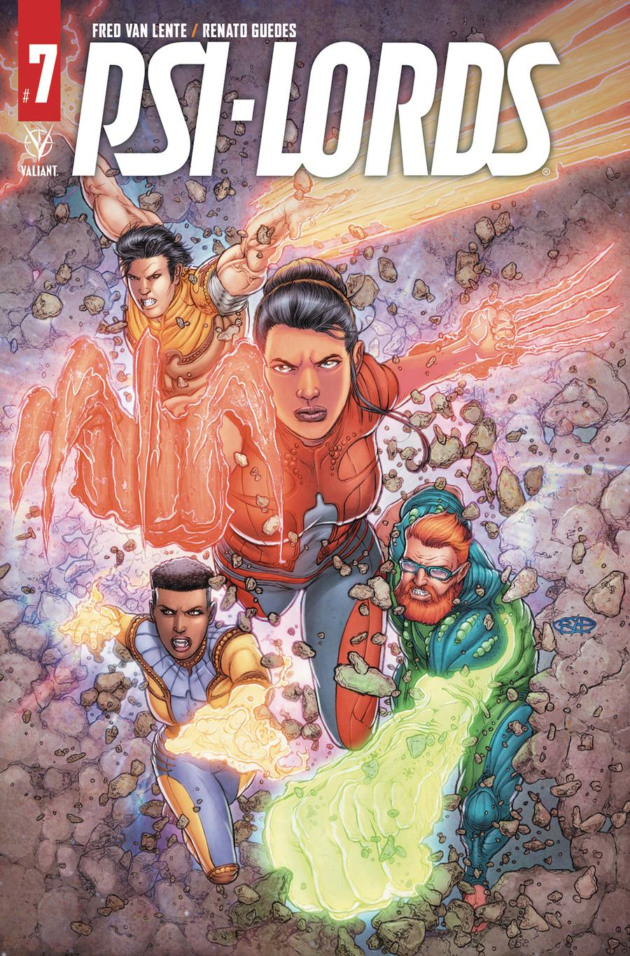 Psi-Lords Vol 2 #7 Cover B Variant Juan Jose Ryp Cover