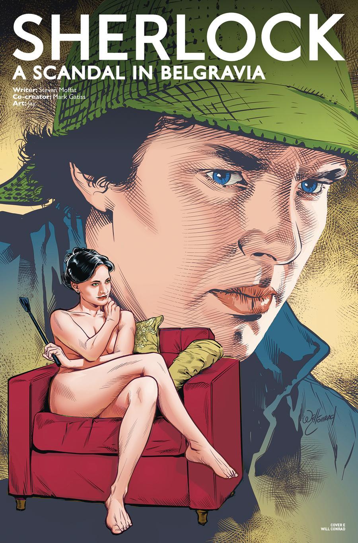 Sherlock Scandal In Belgravia Part 1 #1 Cover E Variant Will Conrad Cover