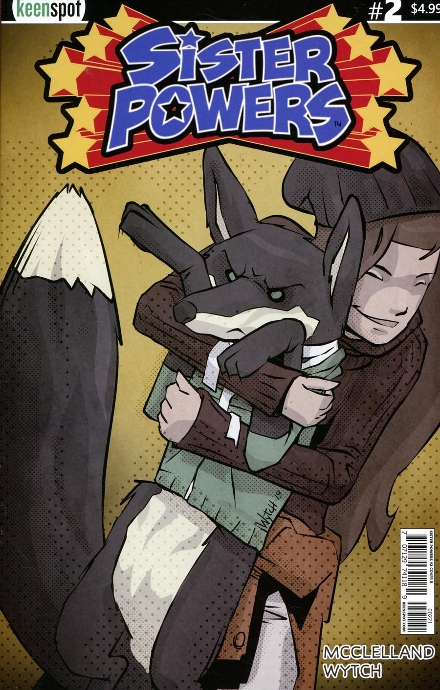 Sister Powers #2 Cover B Variant Mario Wytch Hugs Cover