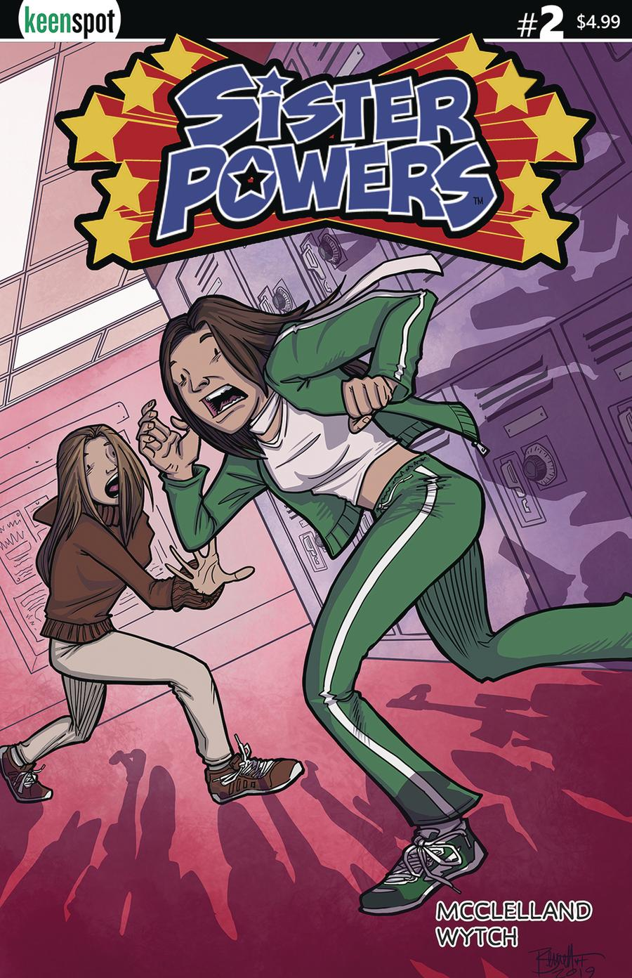 Sister Powers #2 Cover D Variant Jerry Bennet Cover