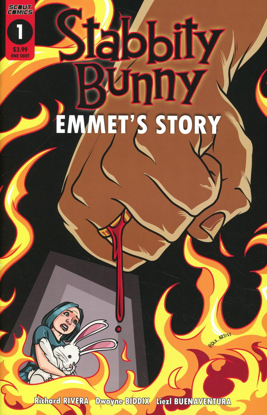 Stabbity Bunny Emmets Story One Shot Cover B Variant Cover