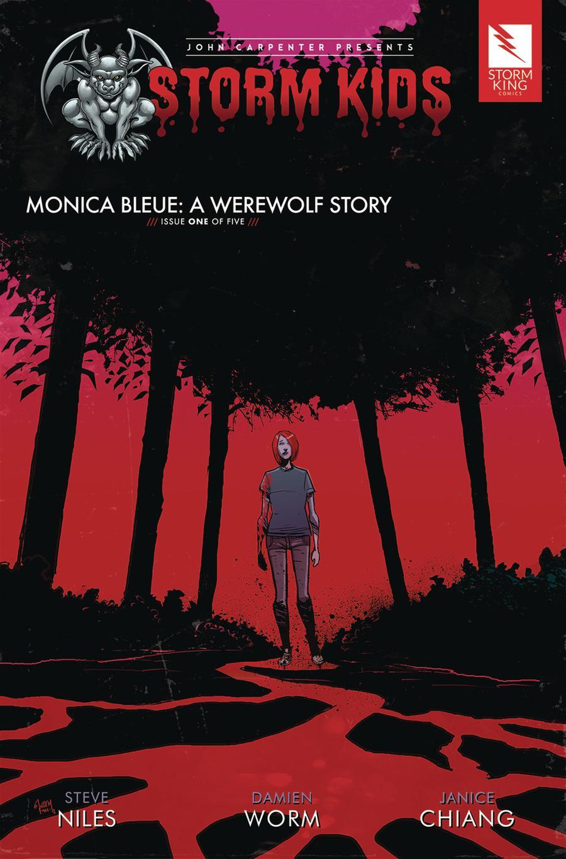 John Carpenter Presents Storm Kids Monica Bleue A Werewolf Story #1