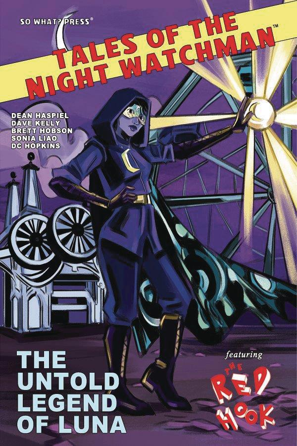 Tales Of The Night Watchman Red Hook Untold Legend Of Luna One Shot Cover B Variant Emily Pearson Cover
