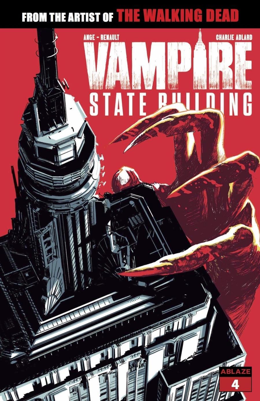 Vampire State Building #4 Cover A Regular Rafael Albuquerque Cover