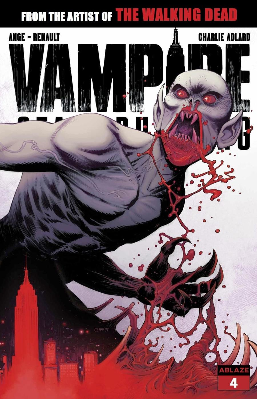 Vampire State Building #4 Cover B Variant Cliff Rathburn Cover