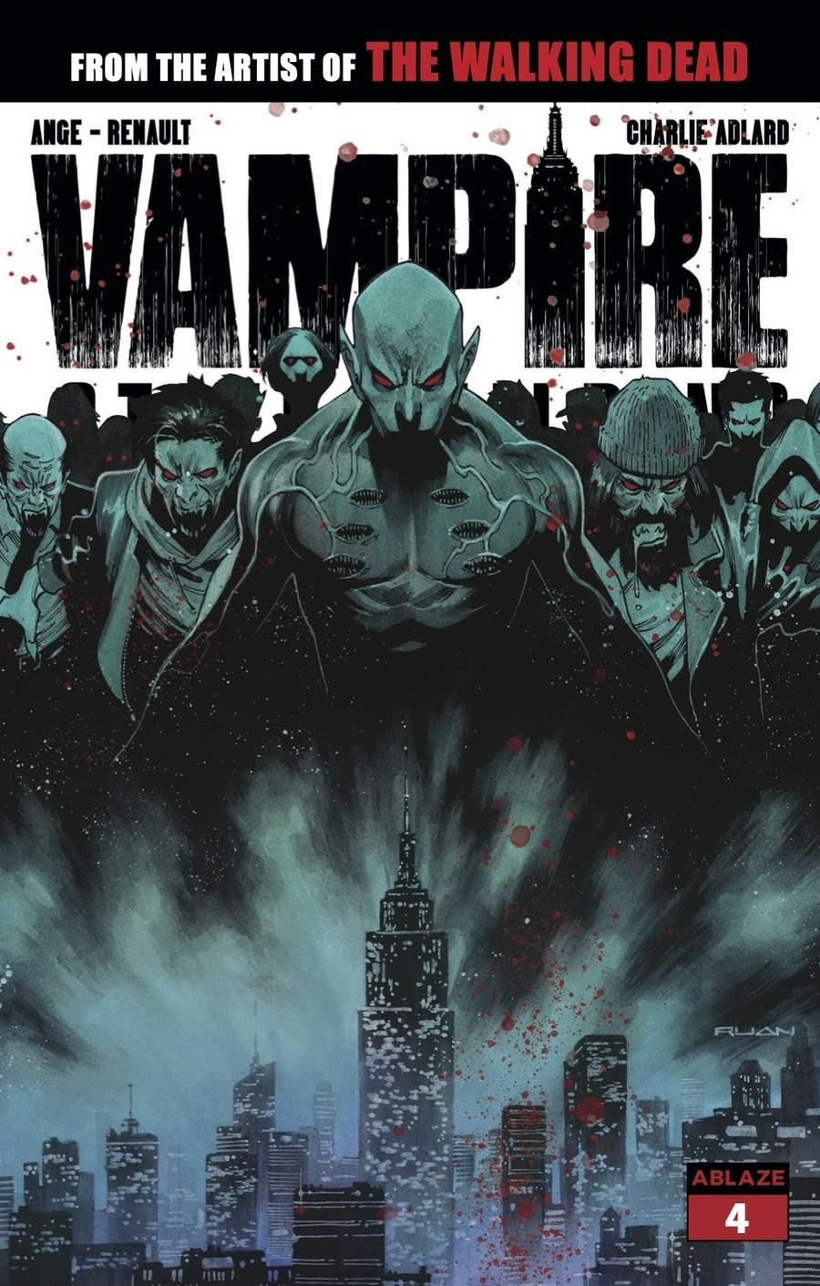 Vampire State Building #4 Cover D Variant Dike Ruan Cover