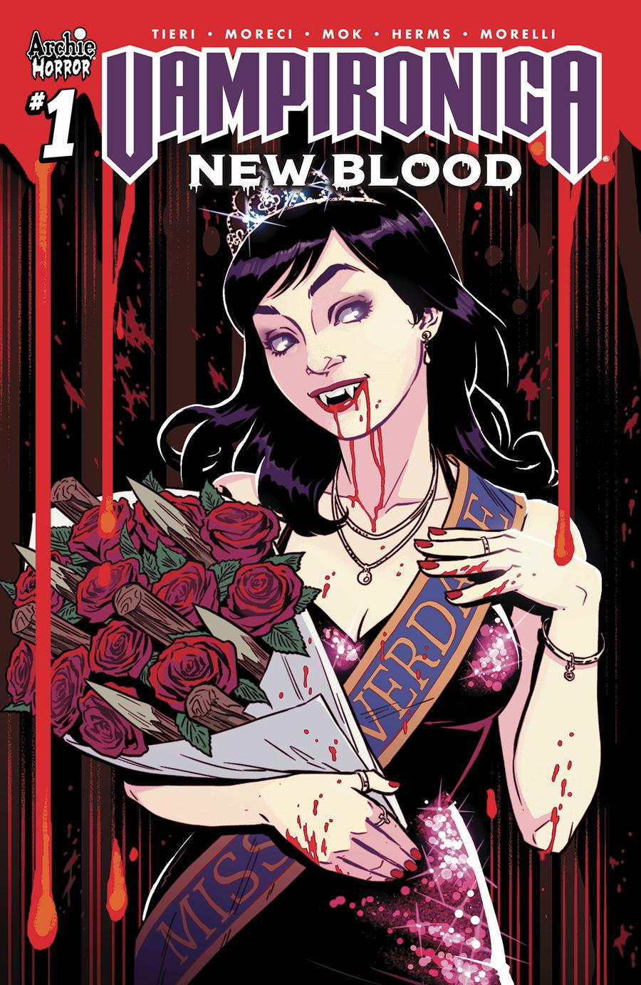 Vampironica New Blood #1 Cover C Variant Rebekah Isaacs & Matt Herms Cover