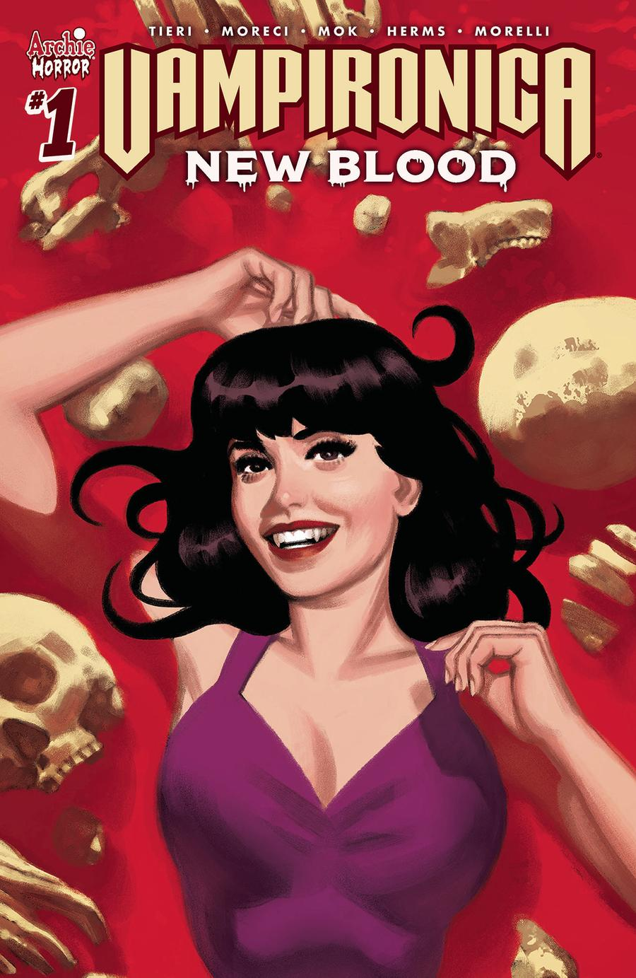 Vampironica New Blood #1 Cover D Variant Greg Smallwood Cover