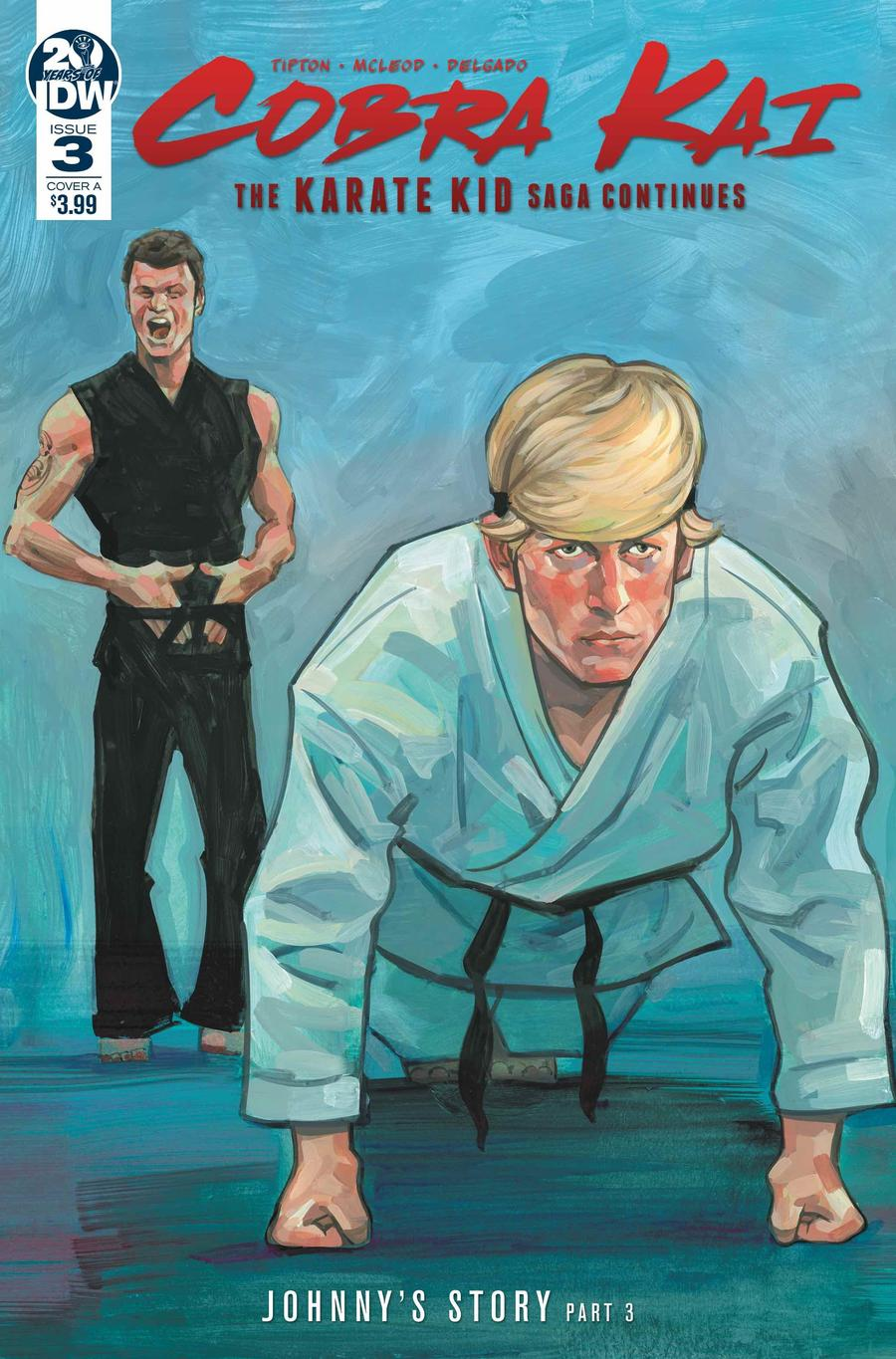 Cobra Kai Karate Kid Saga Continues #3 Cover A Regular Kagan McLeod Cover