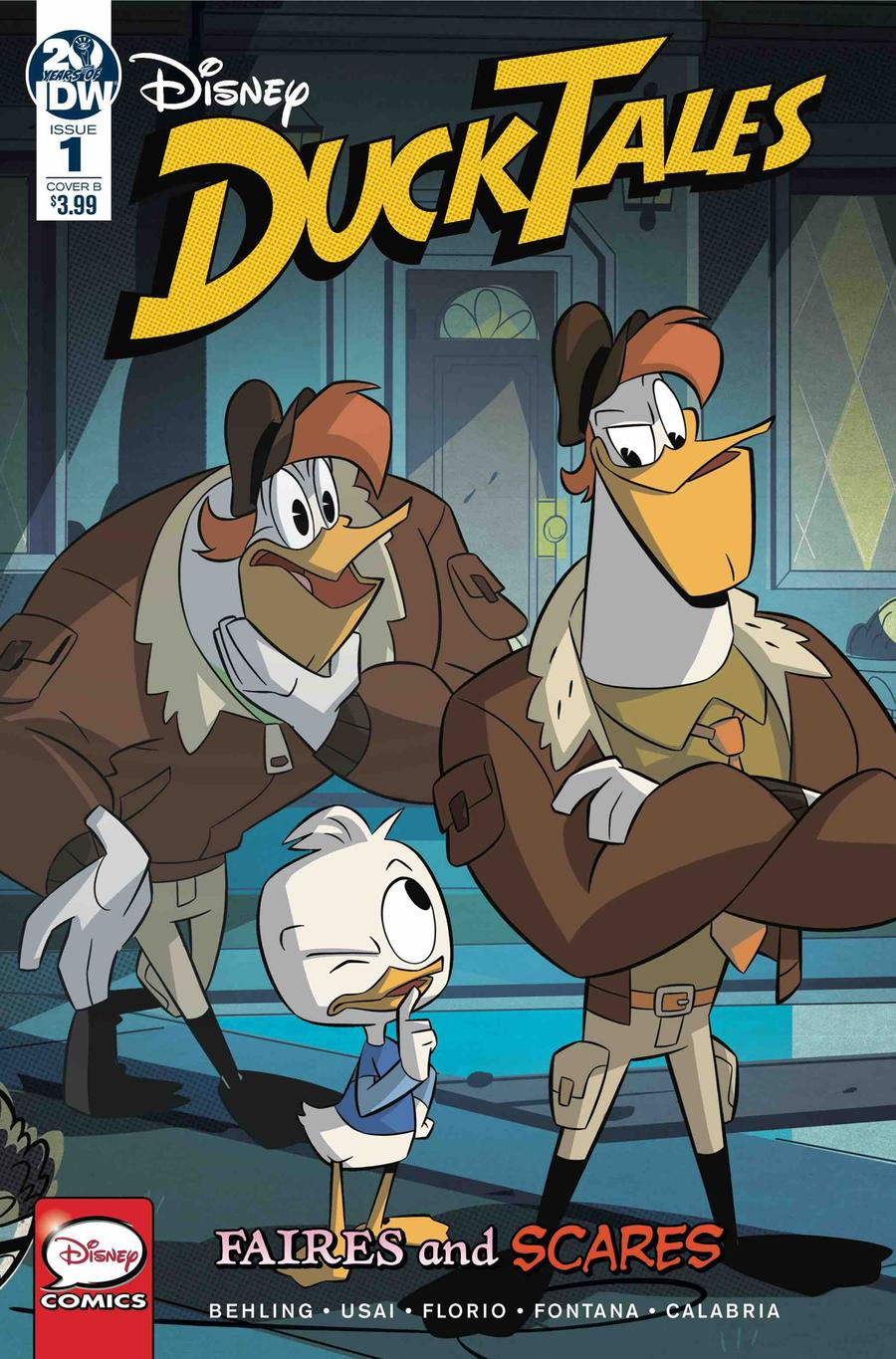 Ducktales Faires And Scares #1 Cover B Variant Marco Ghiglione & Cristina Stella Cover