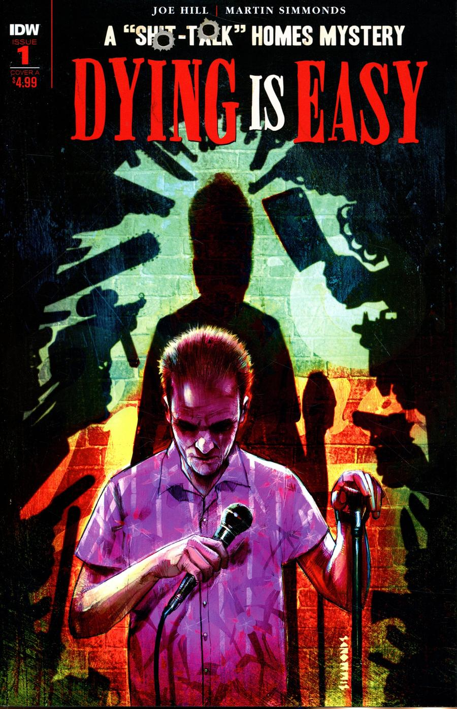 Dying Is Easy #1 Cover A Regular Martin Simmonds Cover