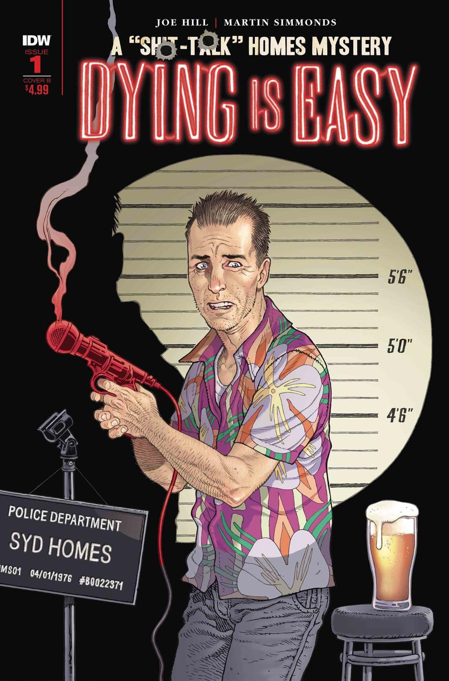 Dying Is Easy #1 Cover B Variant Gabriel Rodriguez Cover