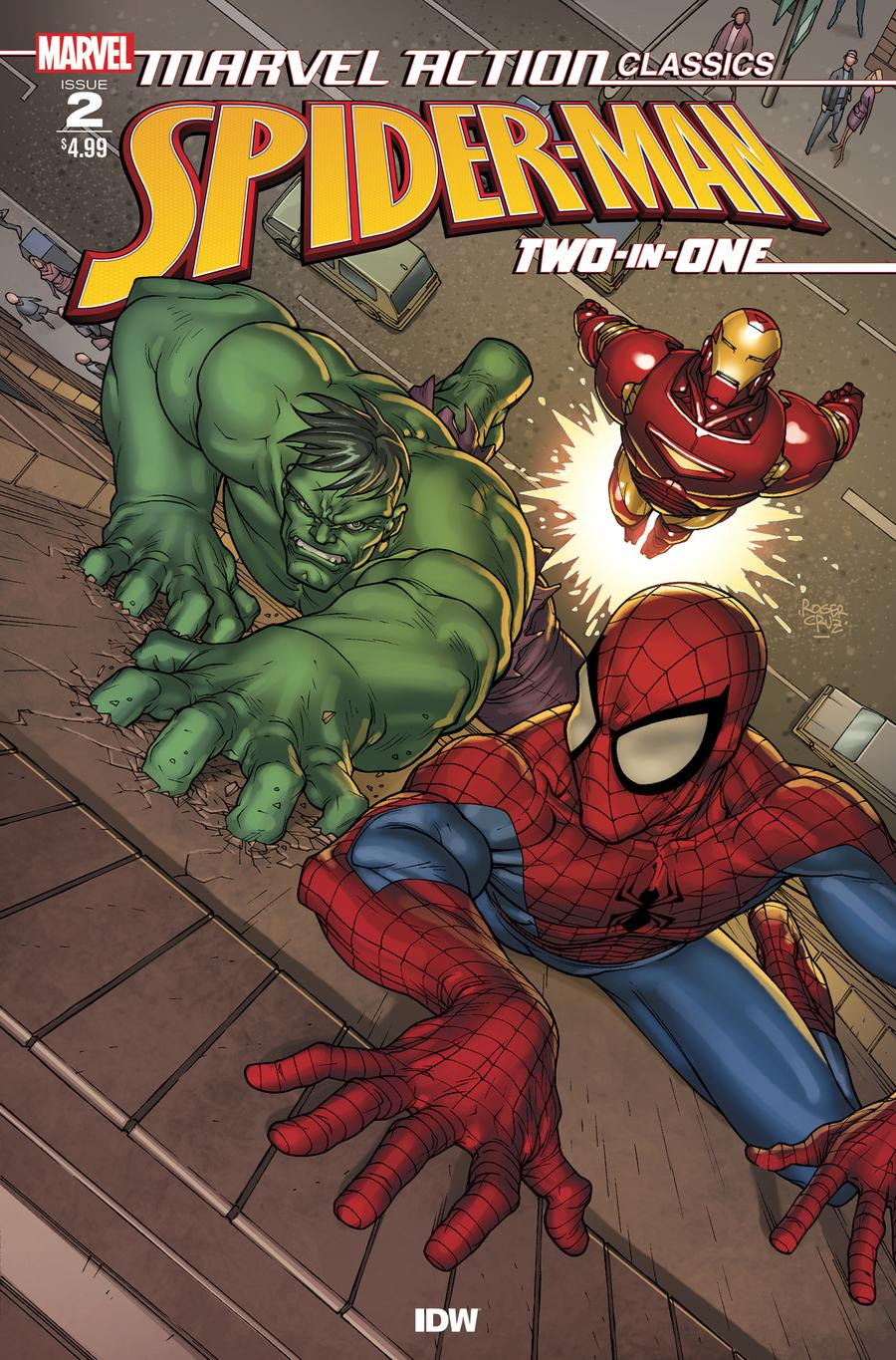 Marvel Action Classics Spider-Man Two-In-One #2
