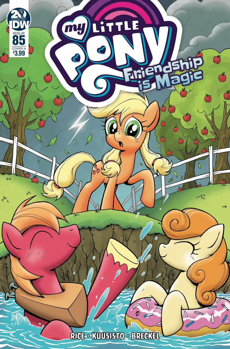 My Little Pony Friendship Is Magic #85 Cover A Regular Casey Coller Cover