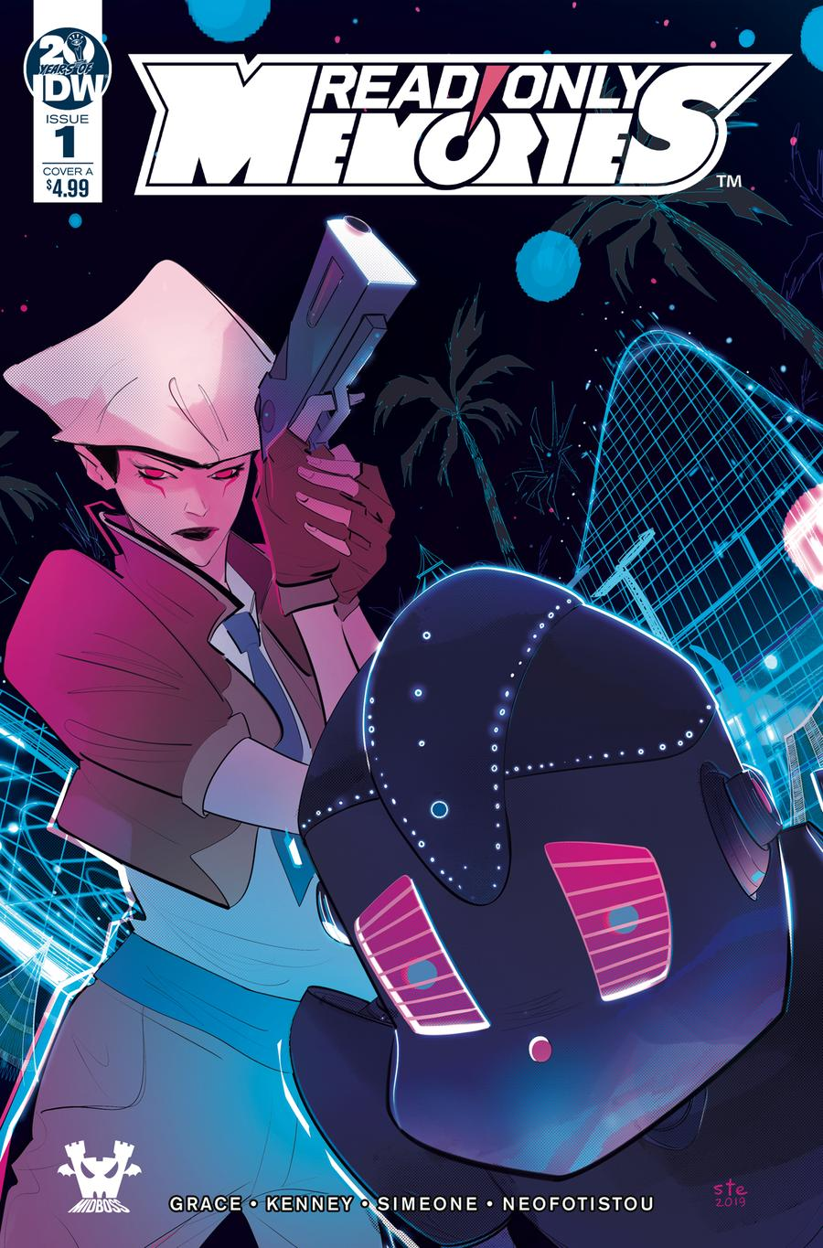 Read Only Memories #1 Cover A Regular Stefano Simeone Cover