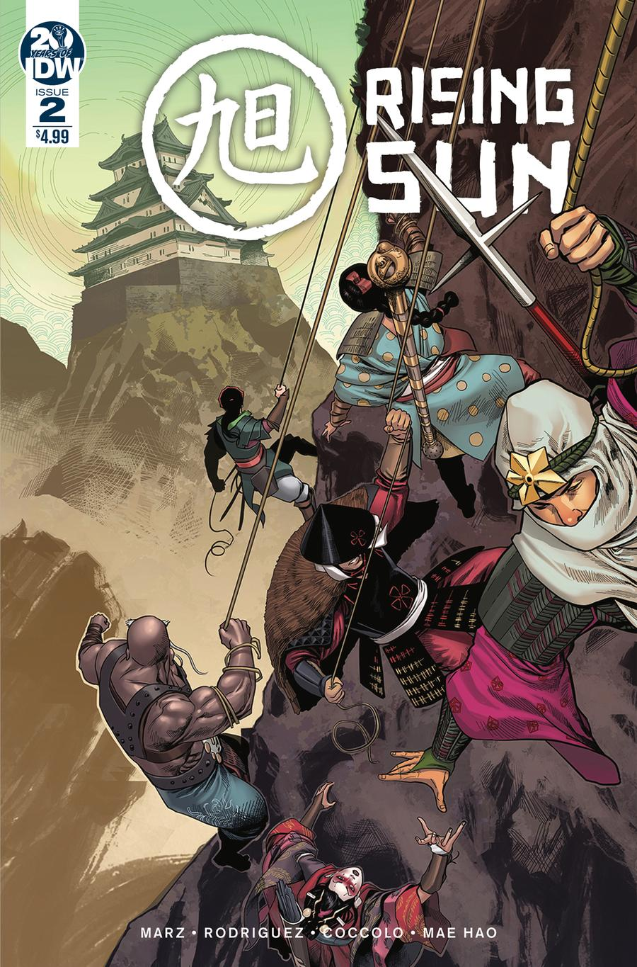 Rising Sun #2 Cover A Regular Martin Coccolo Cover