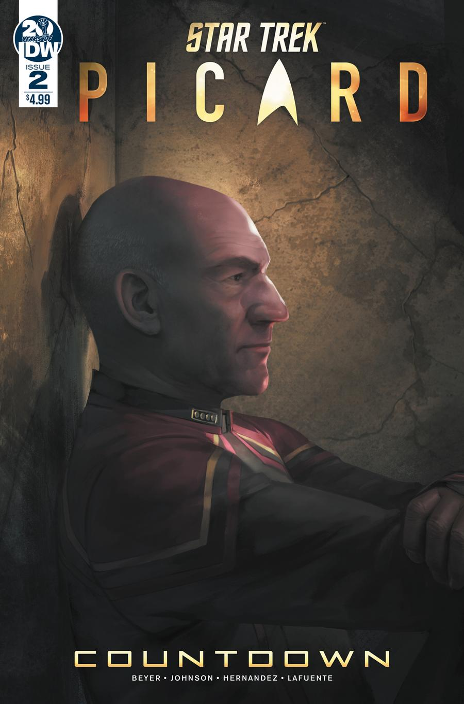 Star Trek Picard Countdown #2 Cover A 1st Ptg Regular Sara Pitre-Durocher Cover