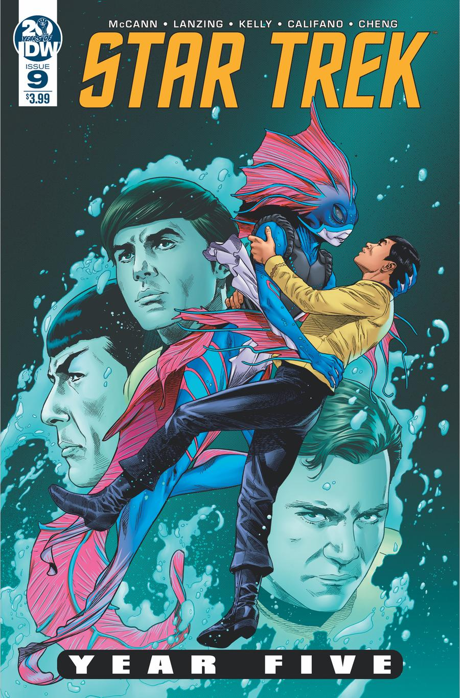 Star Trek Year Five #9 Cover A Regular Stephen Thompson Cover