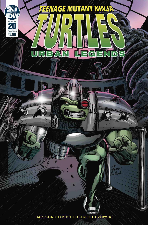 Teenage Mutant Ninja Turtles Urban Legends #20 Cover A Regular Frank Fosco Cover