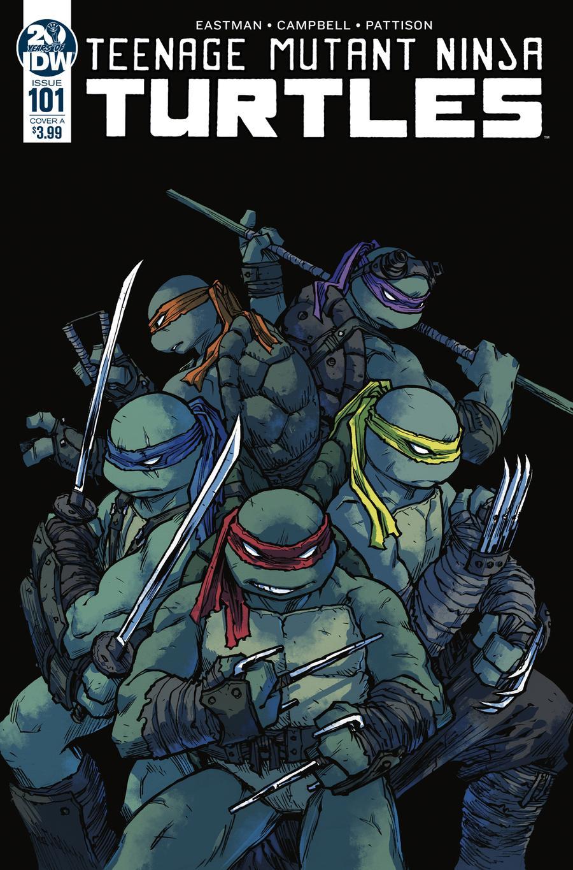 Teenage Mutant Ninja Turtles Vol 5 #101 Cover A 1st Ptg Regular Sophie Campbell Cover