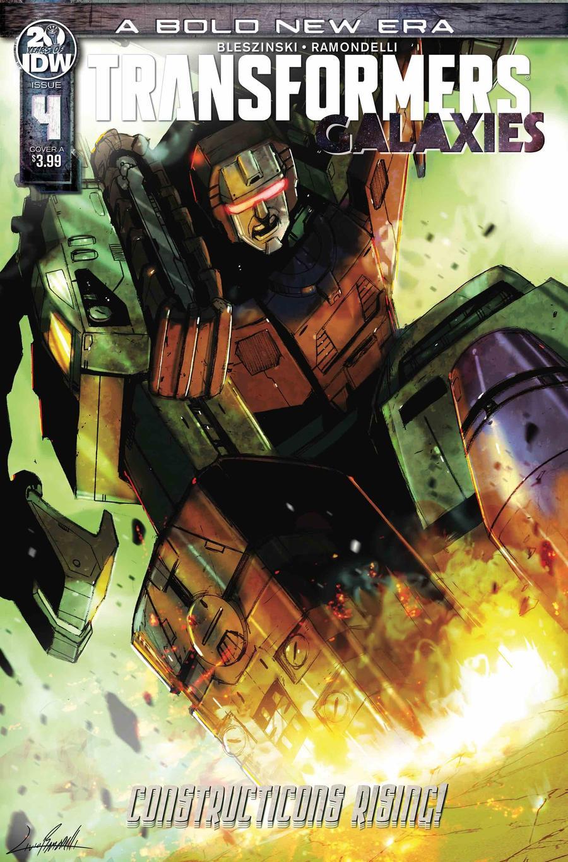 Transformers Galaxies #4 Cover A Regular Livio Ramondelli Cover
