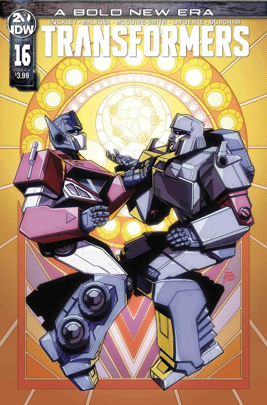 Transformers Vol 4 #16 Cover A Regular Corin Howell Cover