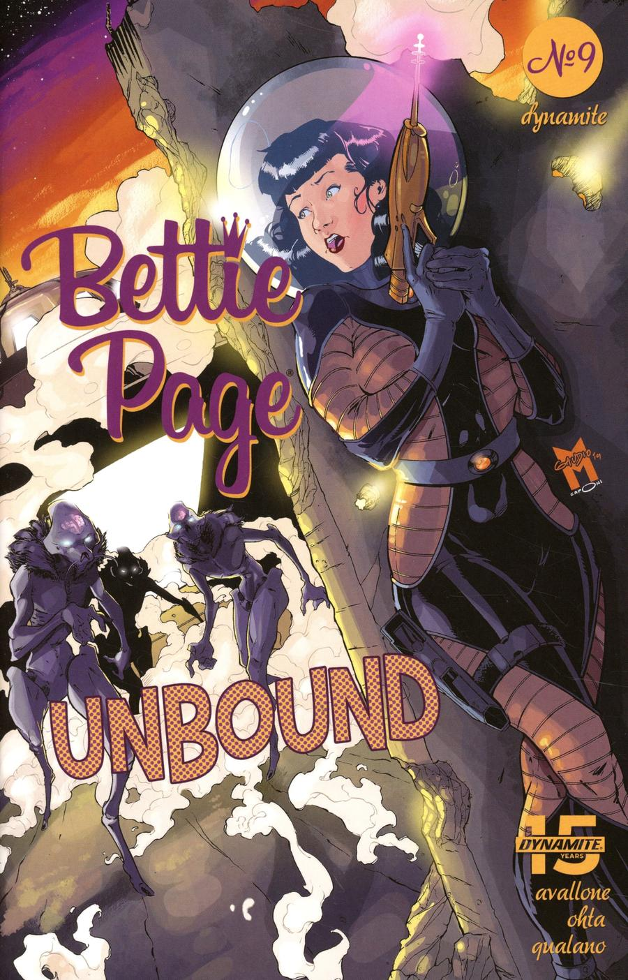 Bettie Page Unbound #9 Cover D Variant Matt Gaudio Cover