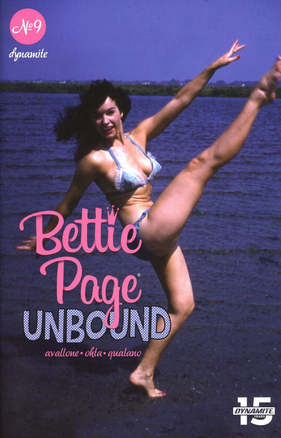 Bettie Page Unbound #9 Cover E Variant Photo Cover