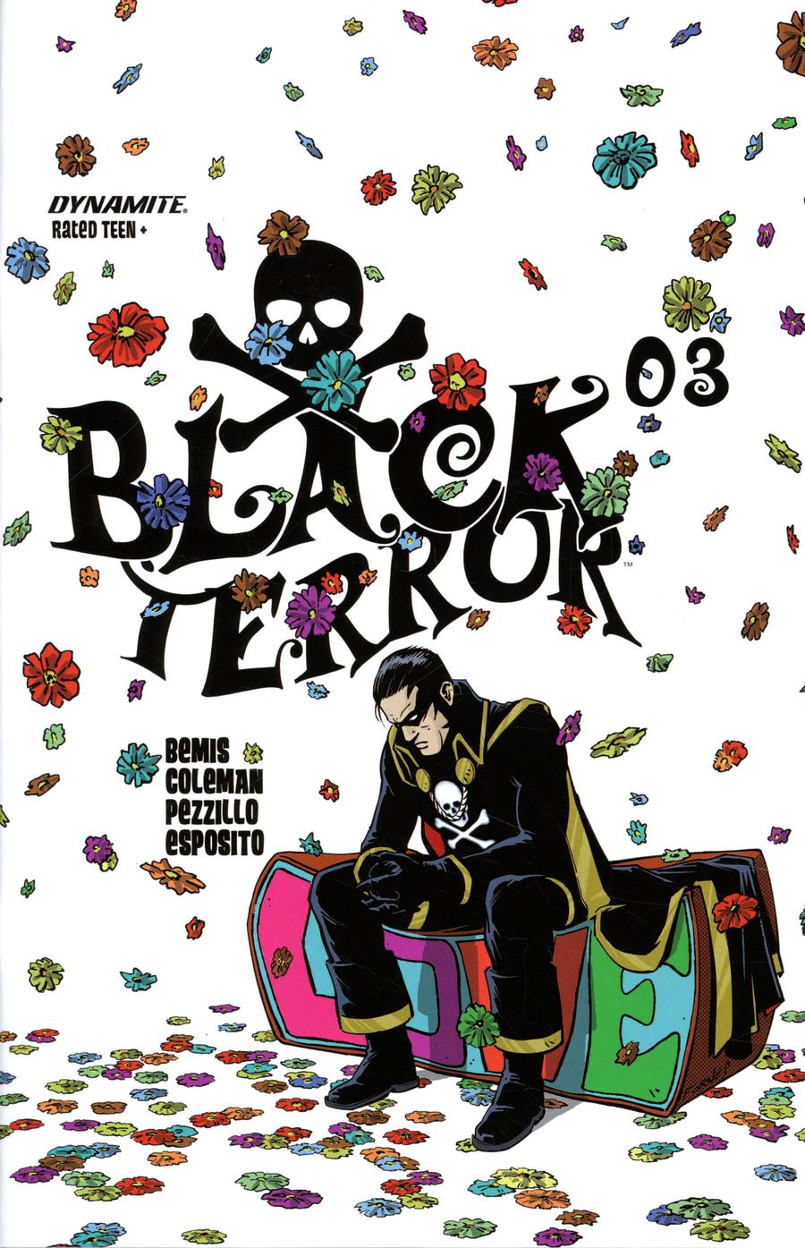 Black Terror Vol 4 #3 Cover B Variant Jorge Fornes Cover