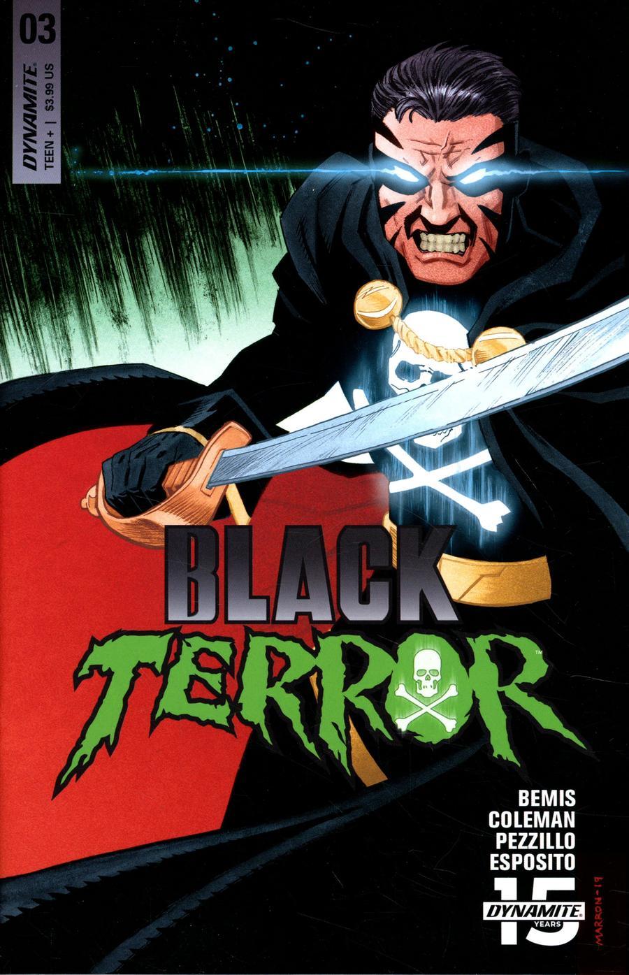 Black Terror Vol 4 #3 Cover C Variant Eoin Marron Cover