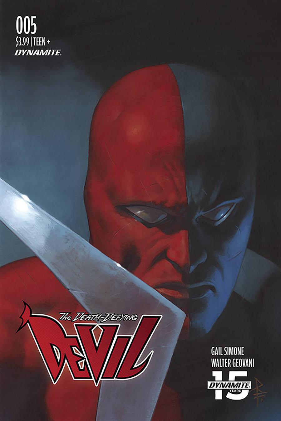 Death-Defying Devil Vol 2 #5 Cover C Variant Riccardo Federici Cover