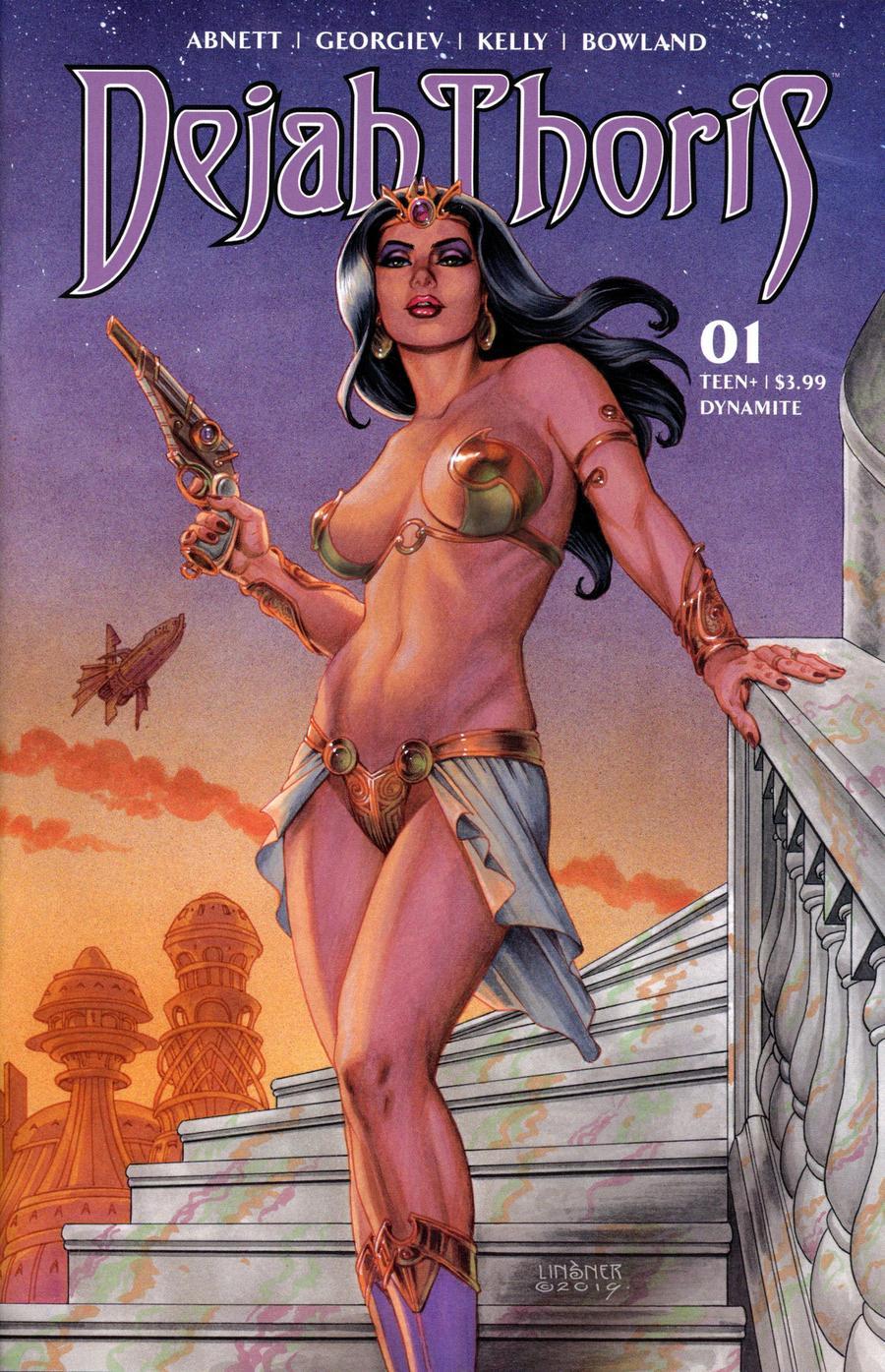 Dejah Thoris Vol 3 #1 Cover B Variant Joseph Michael Linsner Cover