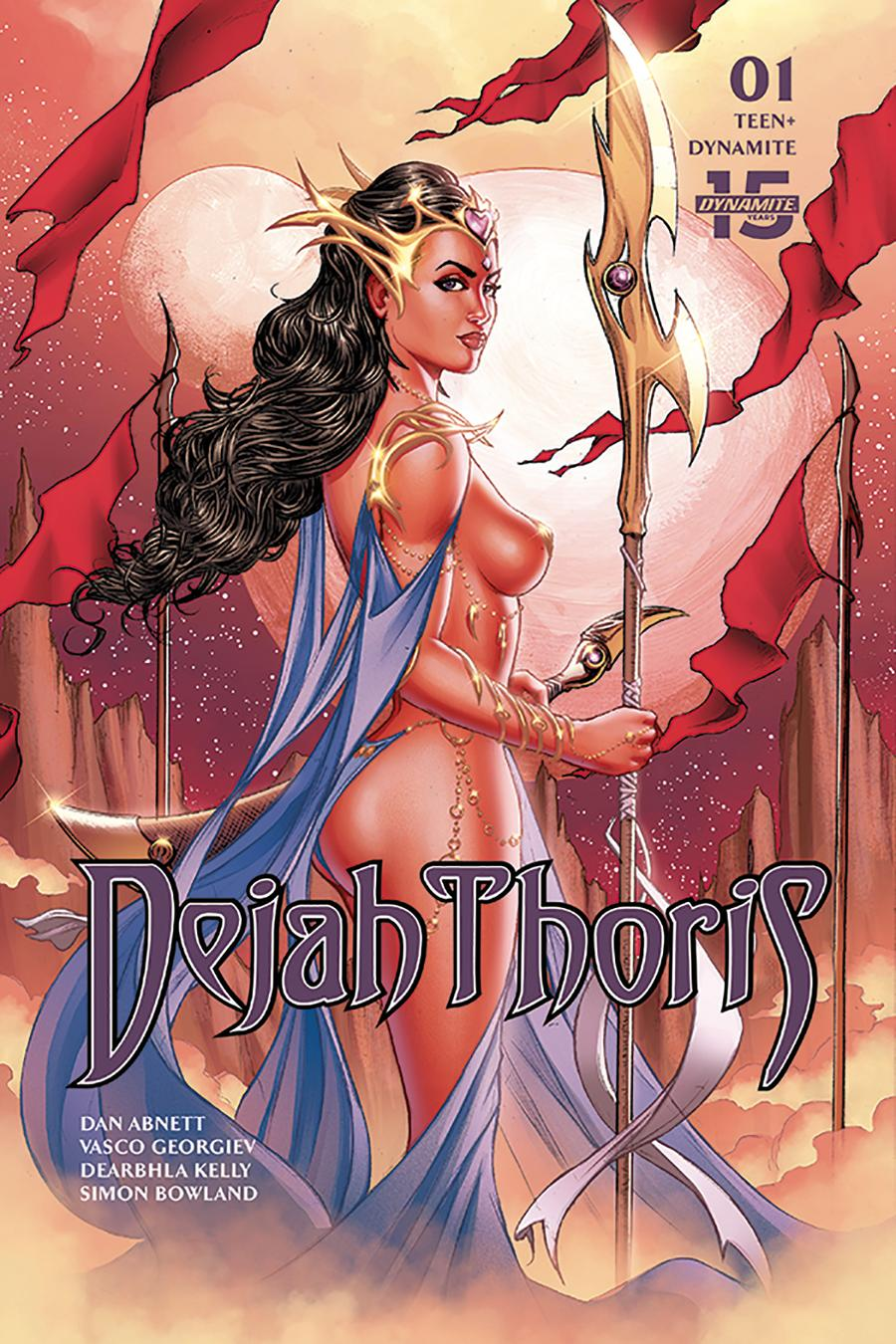 Dejah Thoris Vol 3 #1 Cover D Variant Billy Tucci Cover