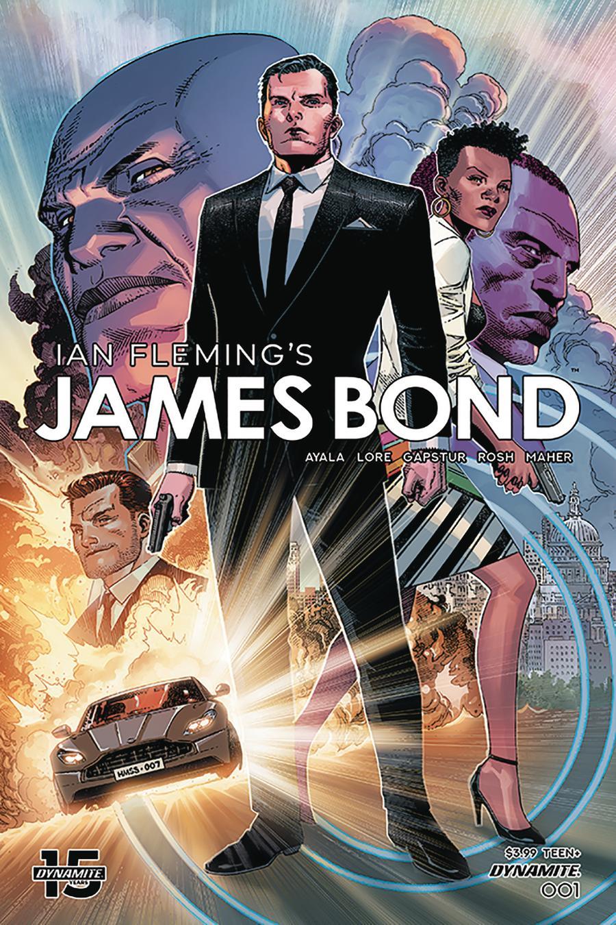 James Bond Vol 3 #1 Cover A Regular Jim Cheung Cover