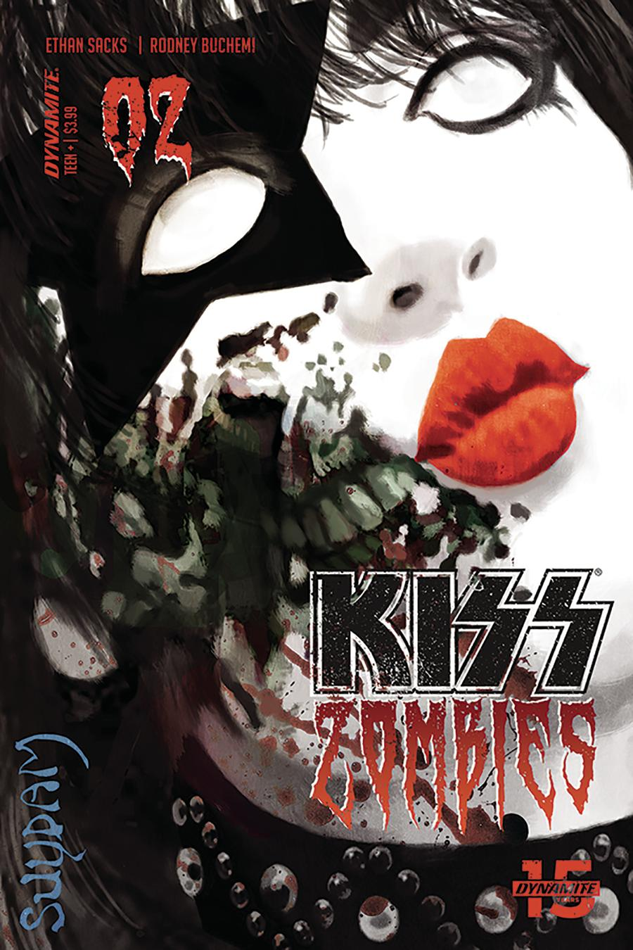 KISS Zombies #2 Cover A Regular Arthur Suydam Cover