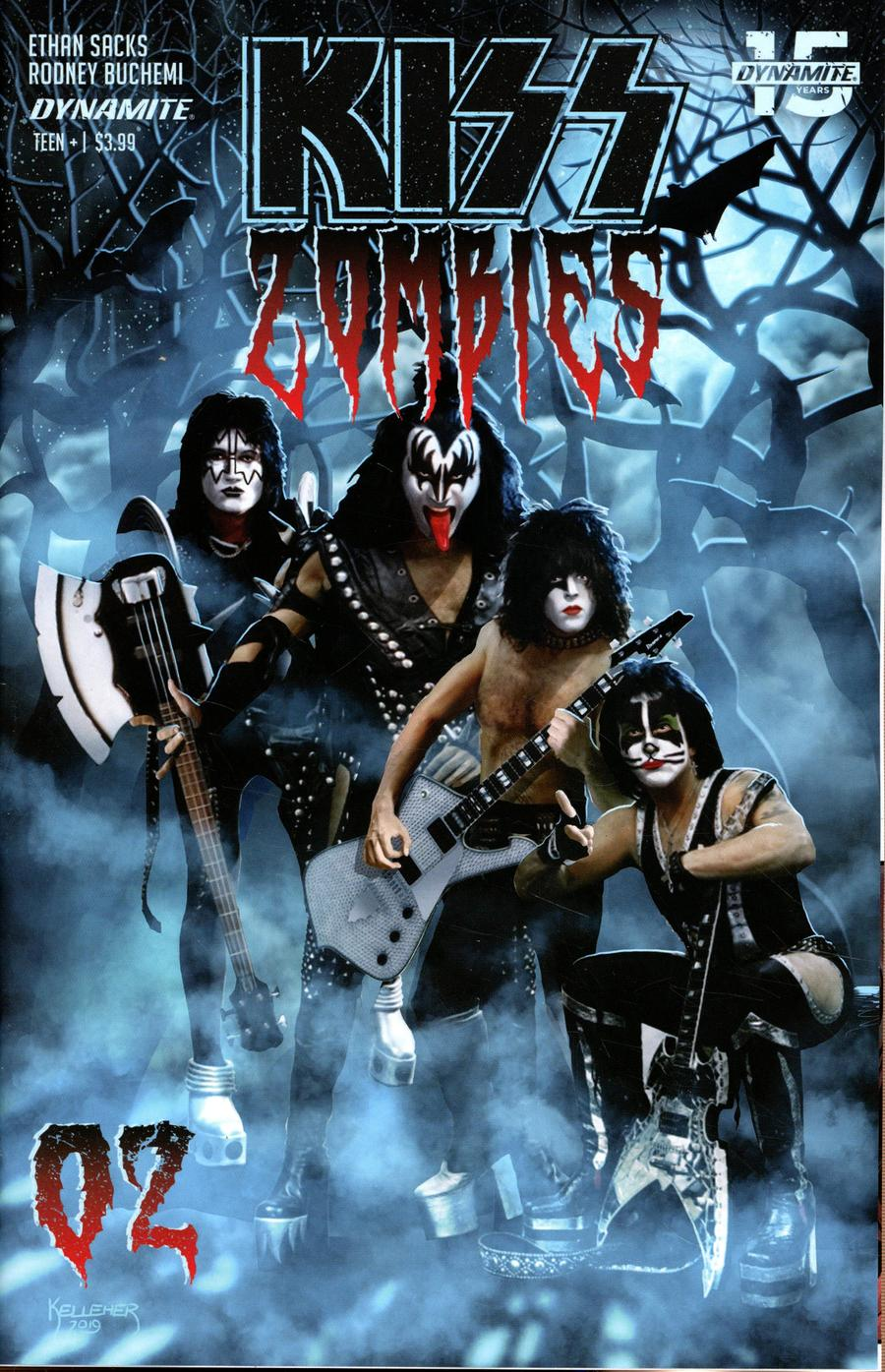 KISS Zombies #2 Cover D Variant Photo Cover