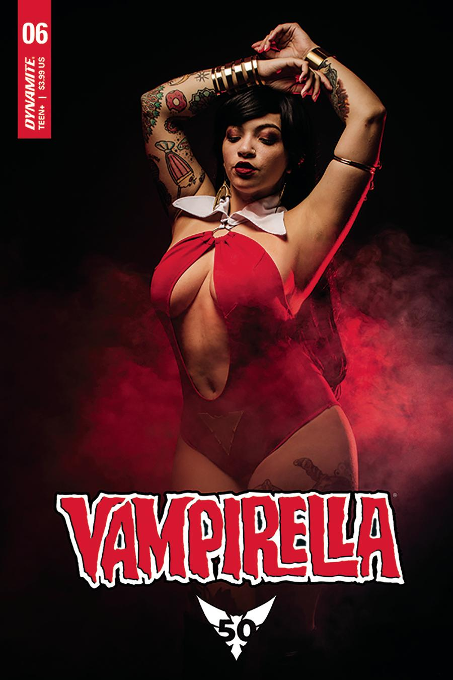 Vampirella Vol 8 #6 Cover E Variant Cosplay Photo Cover