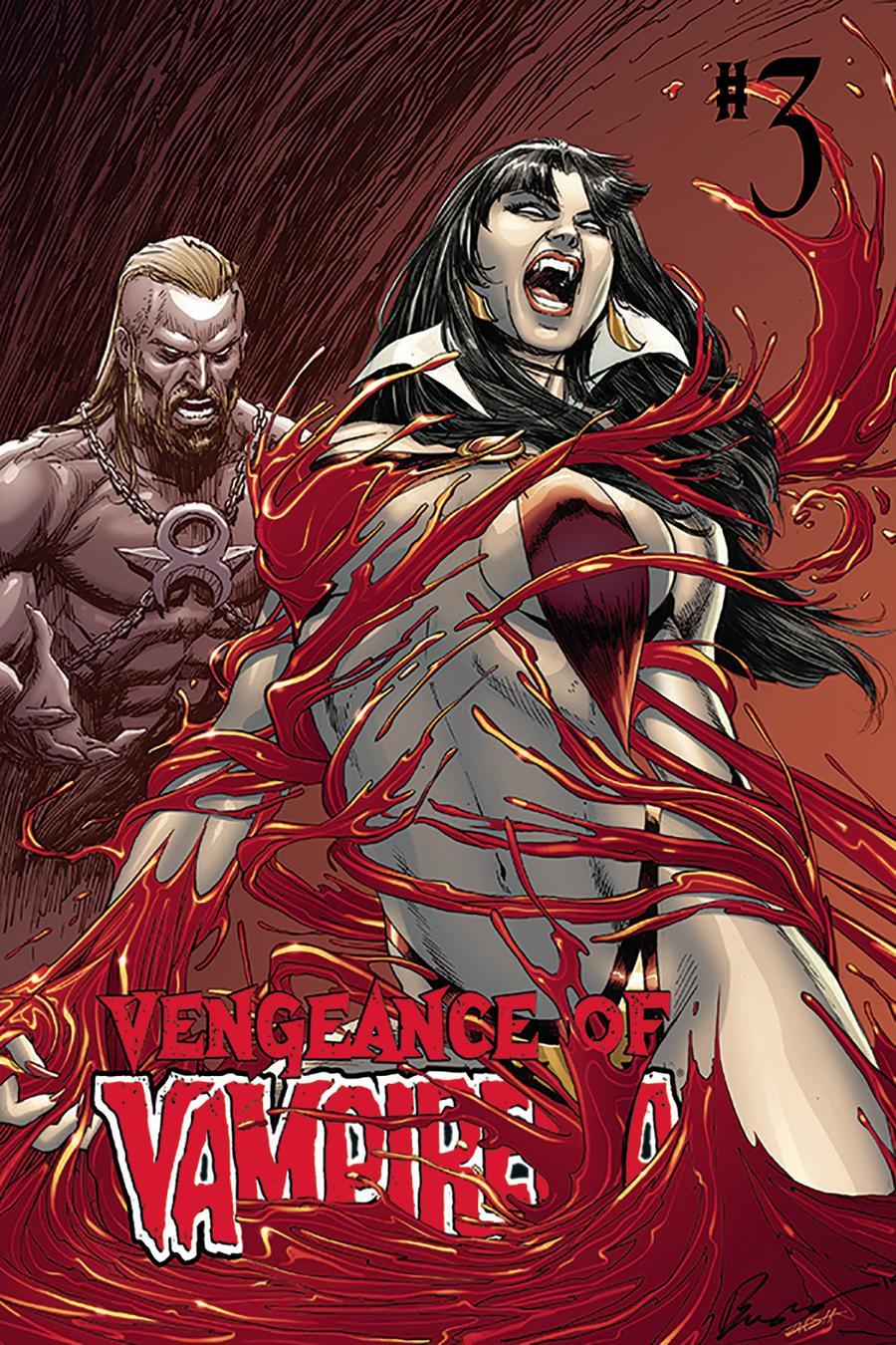 Vengeance Of Vampirella Vol 2 #3 Cover C Variant Buzz & Dash Martin Cover