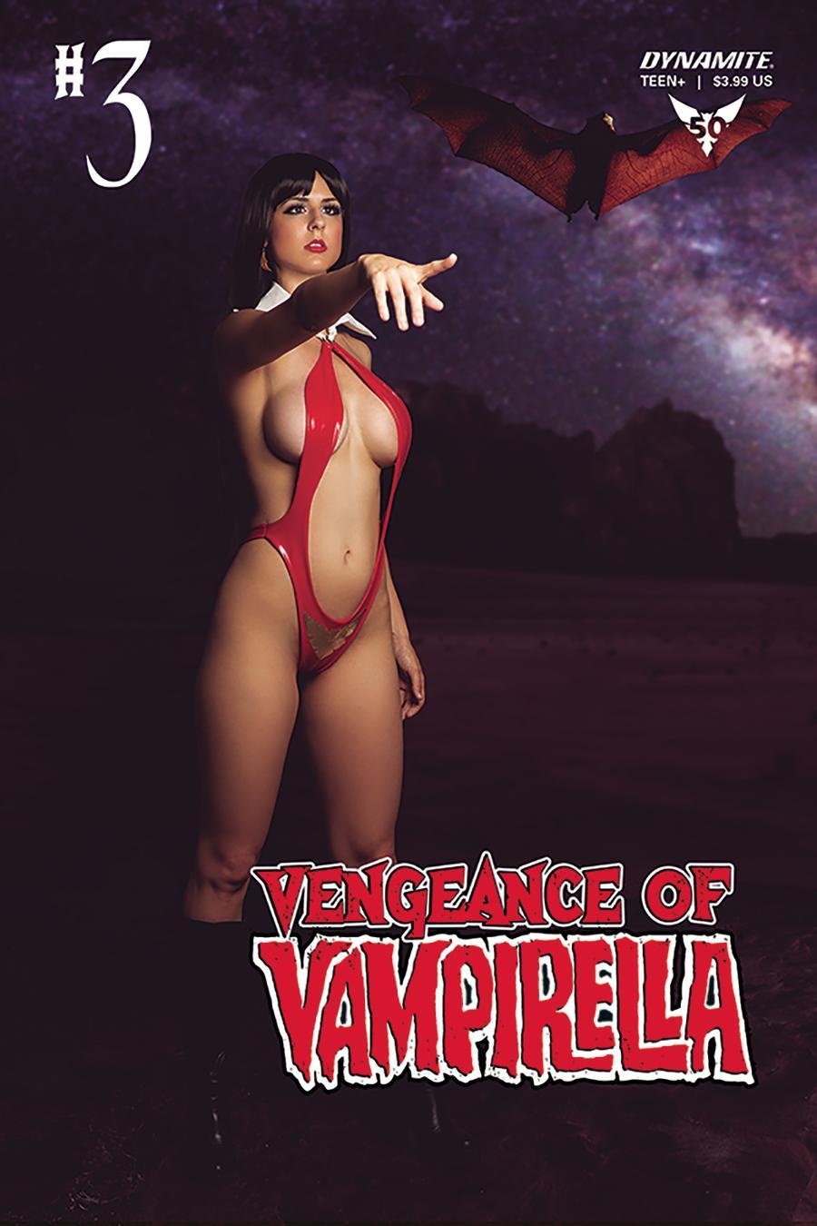 Vengeance Of Vampirella Vol 2 #3 Cover D Variant Cosplay Photo Cover