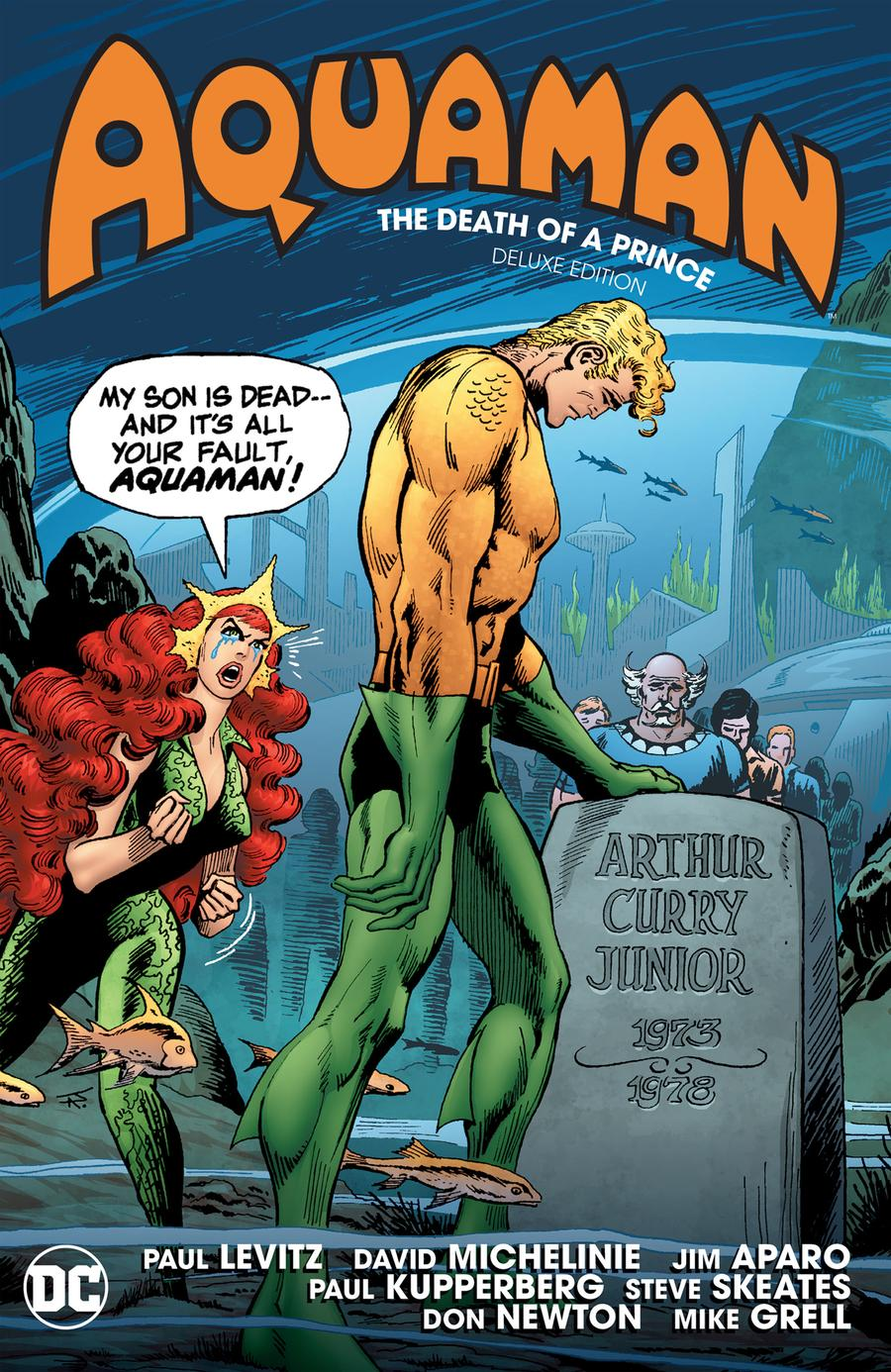 Aquaman Death Of A Prince Deluxe Edition HC