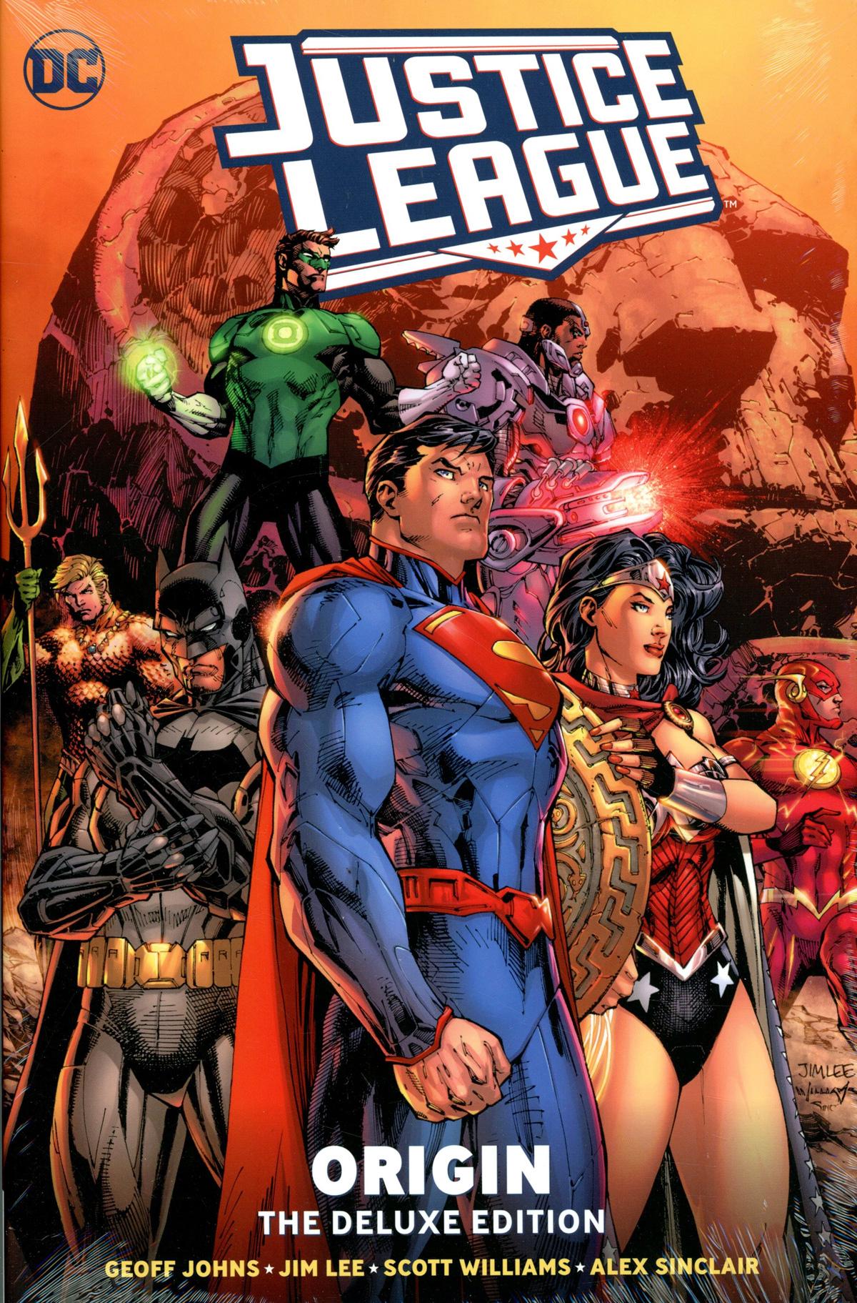 Justice League Origin Deluxe Edition HC