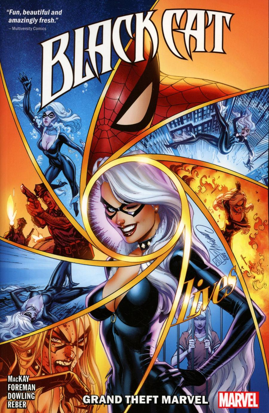 Black Cat (2019) Vol 1 Grand Theft Marvel TP