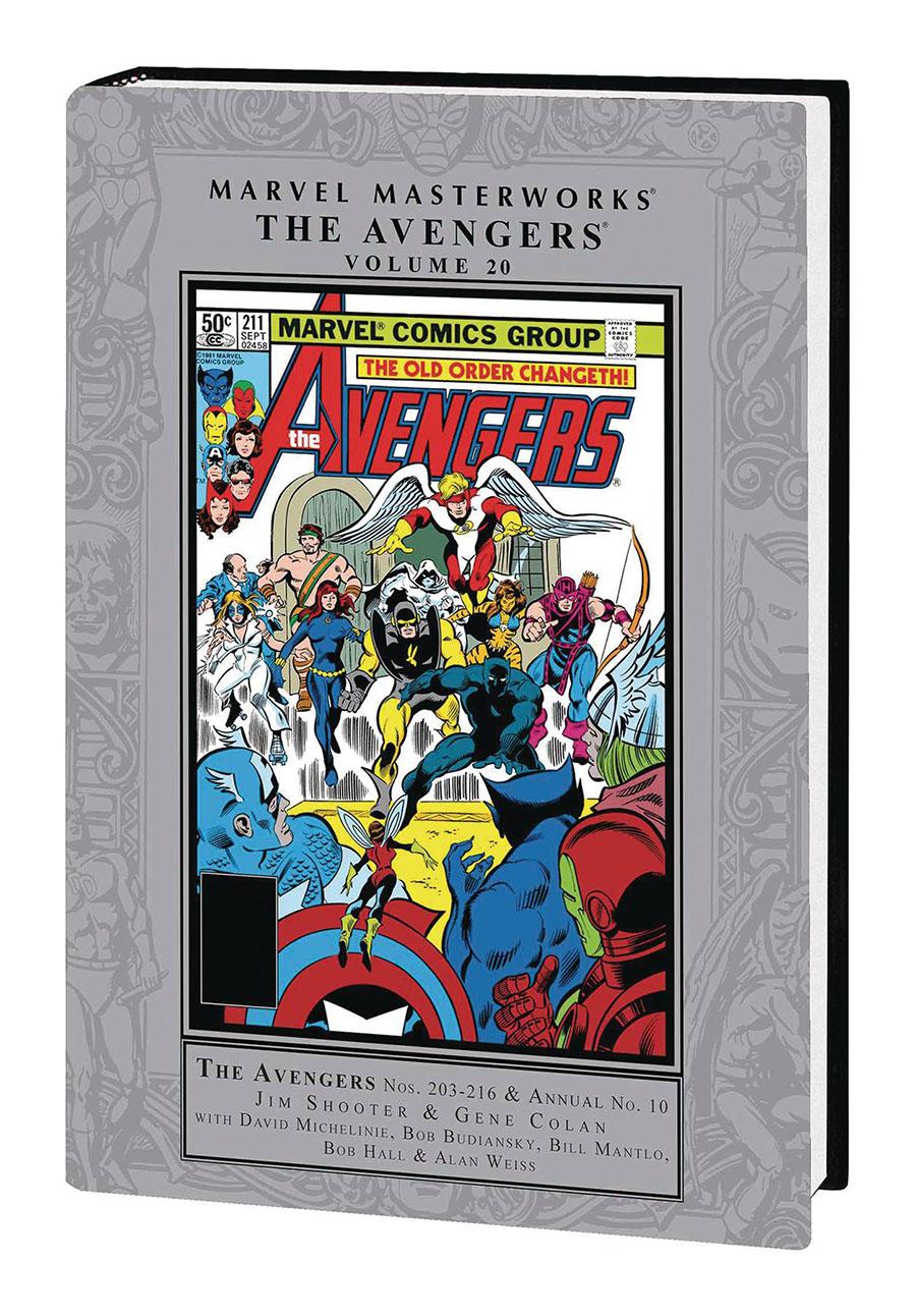 Marvel Masterworks Avengers Vol 20 HC Regular Dust Jacket