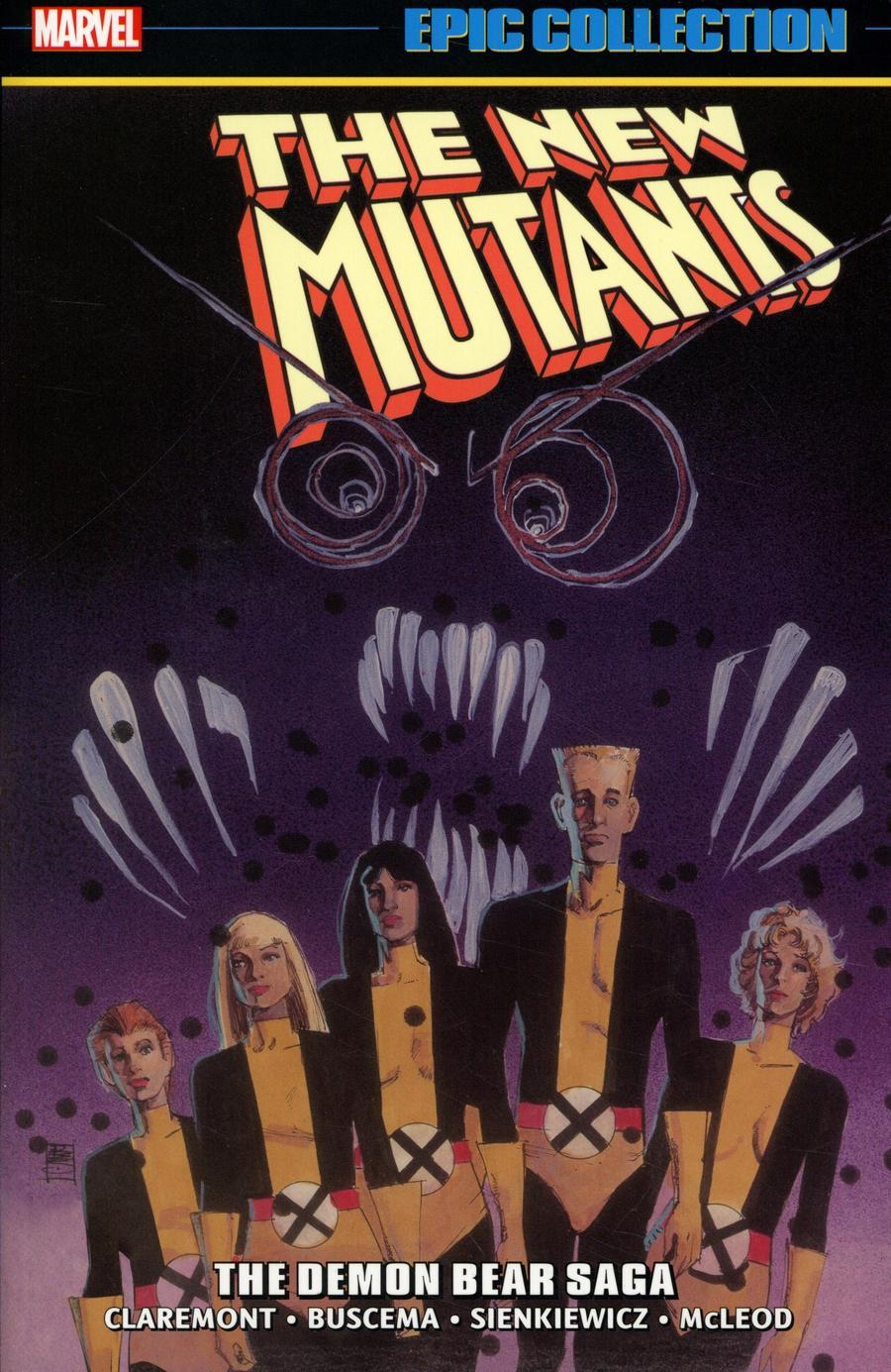 New Mutants Epic Collection Vol 2 Demon Bear Saga TP New Printing