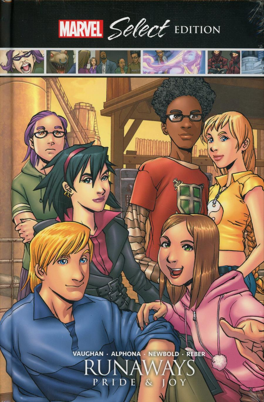 Runaways Pride & Joy Marvel Select HC